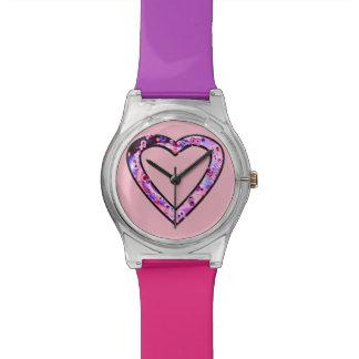 Graffiti Heart (wink) Wristwatch