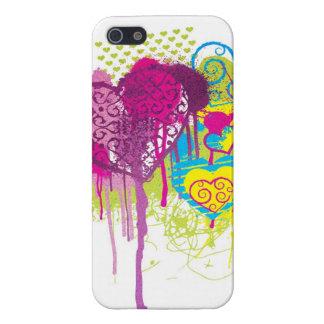 Graffiti Hearts iPhone SE/5/5s Case
