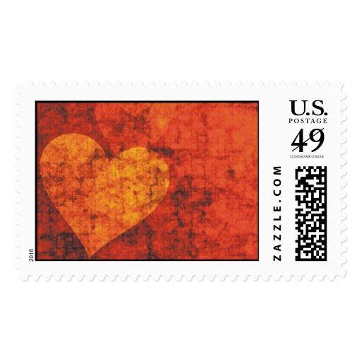 Graffiti Hearts Stamp