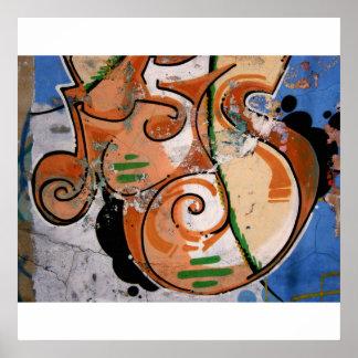 Graffiti in Music Poster