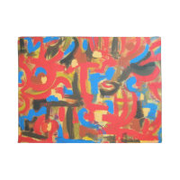 Graffiti In The Attic-Abstract Art Brushstrokes