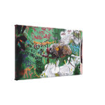 Graffiti insect - Canvas Stretched Canvas Print