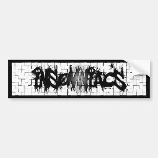 Graffiti Insomniacs Collage Bumper Sticker