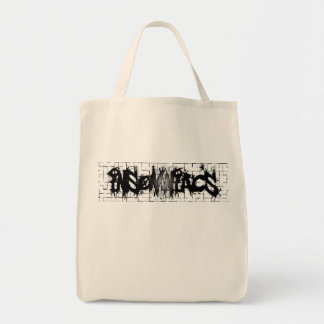 Graffiti Insomniacs Collage Canvas Bag