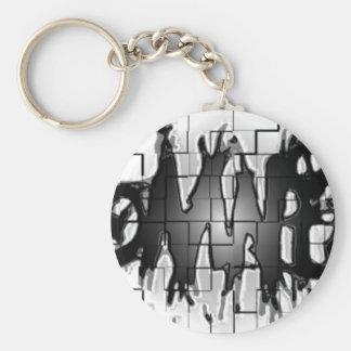 Graffiti Insomniacs Collage Keychains