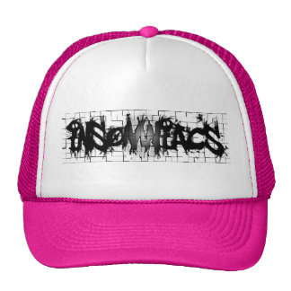 Graffiti Insomniacs Collage Mesh Hats