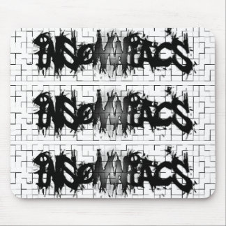 Graffiti Insomniacs Collage Mouse Pads