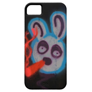 Graffiti iPhone 5 rabbit bunny barely there case