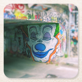 Graffiti Joker Smile - Milan, Italy Coaster