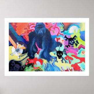 Graffiti Jungle Poster