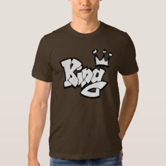 Graffiti King with Crown Tee Shirt