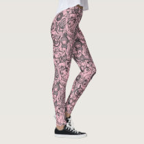 Graffiti Kosharek Art leggings