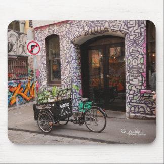 Graffiti Laneway Mouse Pad