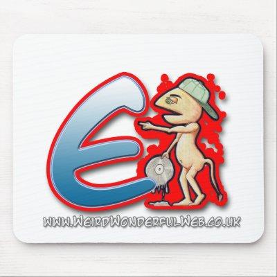 letter e graffiti. Graffiti Letter E mouse mat by