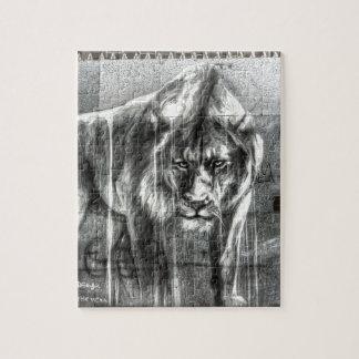 Graffiti Lion, Shoreditch London Jigsaw Puzzles
