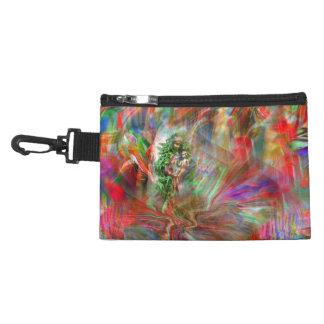 Graffiti Madonna tie-clip on Bag