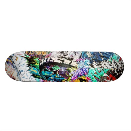 Graffiti Mash Skateboard