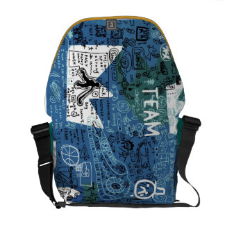 Graffiti Messenger Bag