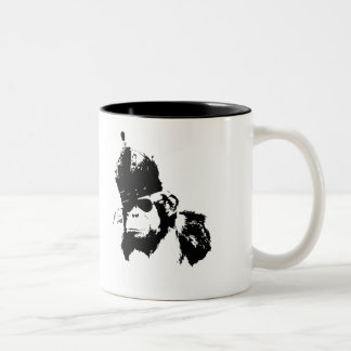 Graffiti Monkey King Two-Tone Coffee Mug