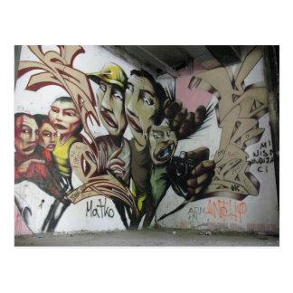 Graffiti : Mostar (Herzégovine) - Post Card