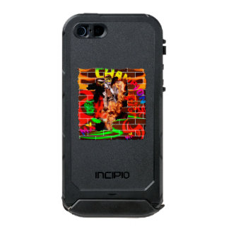 Graffiti Motocross wall Waterproof iPhone SE/5/5s Case