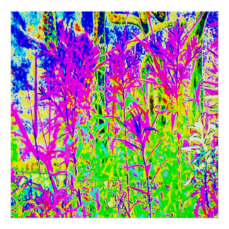Graffiti n Plants : Humber River Bridge Toronto Poster