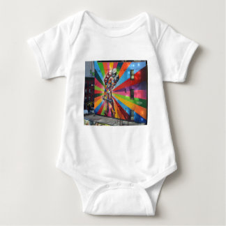 Graffiti of New York Baby Bodysuit