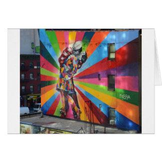 Graffiti of New York Card
