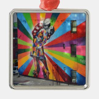 Graffiti of New York Metal Ornament