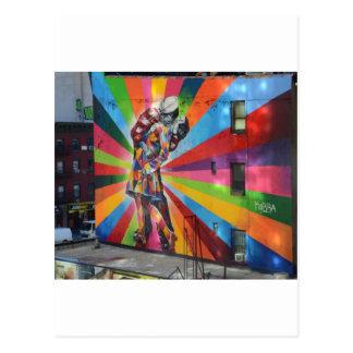 Graffiti of New York Postcard