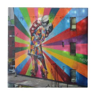 Graffiti of New York Tile