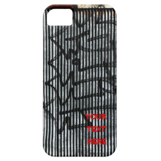 graffiti on the loading dock iphone case iPhone 5 case