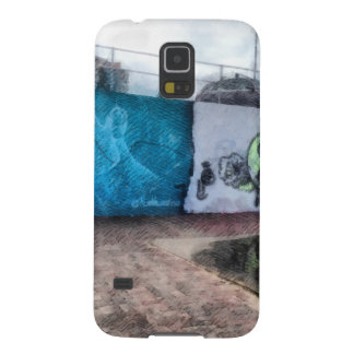 Graffiti on the wall case for galaxy s5