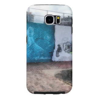 Graffiti on the wall samsung galaxy s6 cases