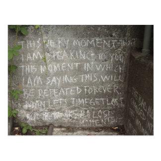 Graffiti on West Wall, Stairs to Kitsilano Beach Postcard