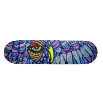 Graffiti Owl Skateboard