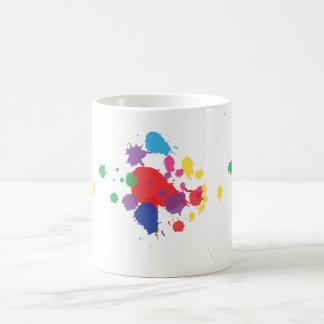 Graffiti Paint Splatter Coffee Mug