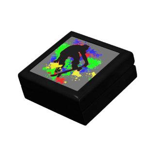 Graffiti Paint Splotches Jewelry Box