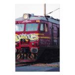 Graffiti Painted Train Stationery Paper