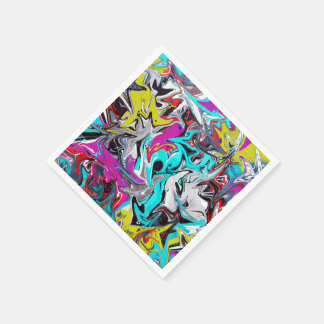 Graffiti Paper Napkin