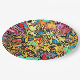 Graffiti Paper Plate