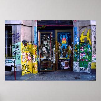 Graffiti, Paris Poster