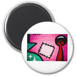 Graffiti Patch and Lolly. Magnet