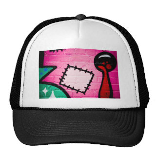 Graffiti Patch and Lolly. Trucker Hat