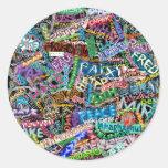 graffiti peace international translation stickers
