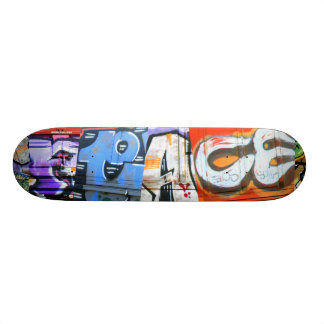 Graffiti Peace Train Skateboard Deck