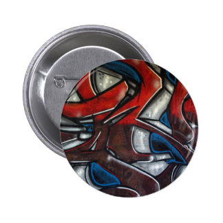 Graffiti Pinback Button
