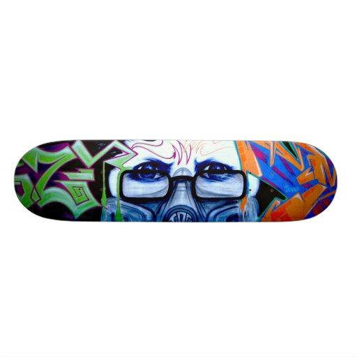 Graffiti Portrait Skateboard