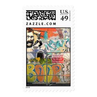 Graffiti Postage Stamp