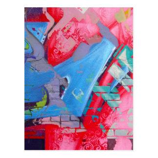GRAFFITI POSTCARD